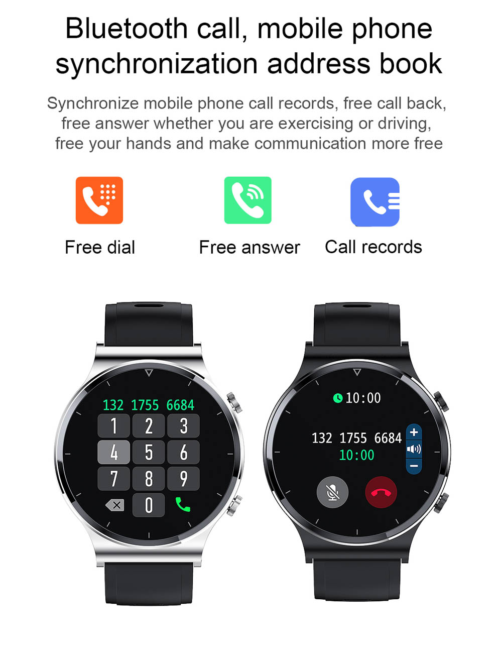 Hb3f9d8da5e1e4c83a705a0cc7ff68863O NUOBO 2021 New Smart Watch Men Bluetooth Call Heart Rate Blood Pressure Sports IP68 Waterproof Smartwatch for Android IOS Phone