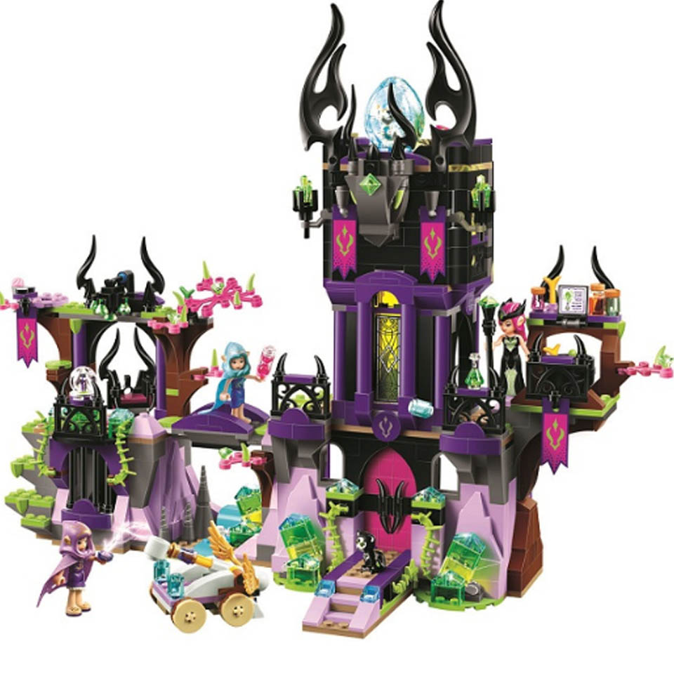 Friend 41178 Friends 10549 Elves Dragon Sanctuary Building Bricks Blocks DIY Educational Toys Compatible with Lepining image
