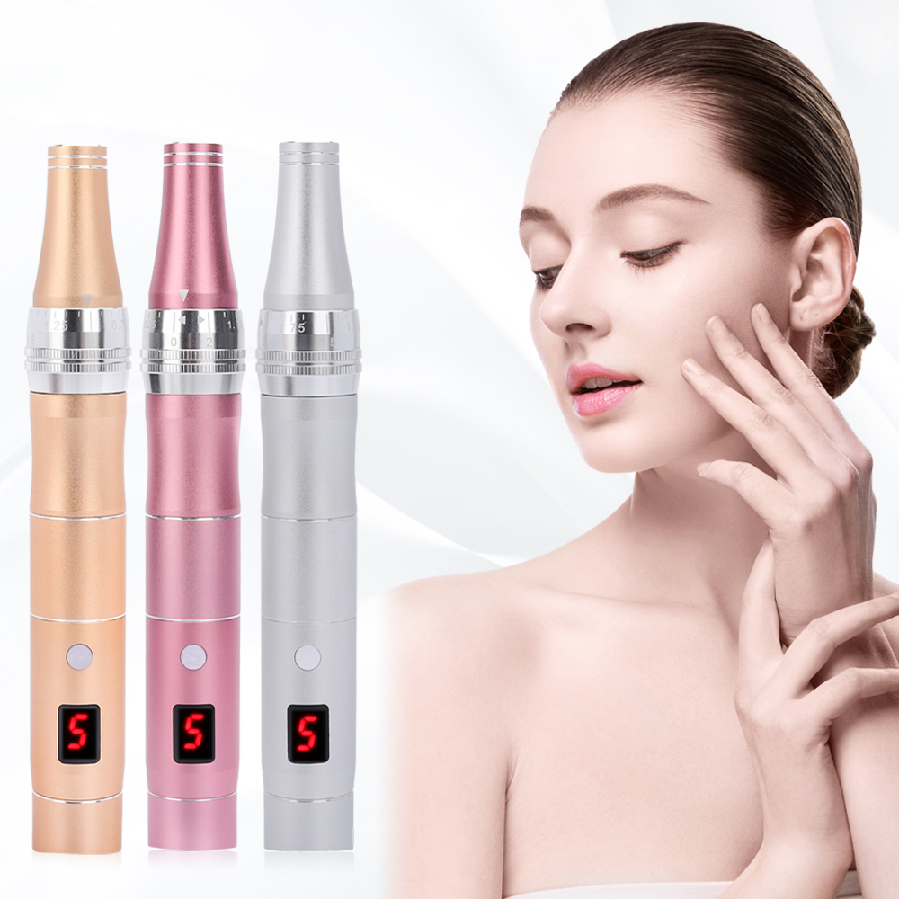 Electric Derma Pen Skin Care Kit Tools Wireless Dr Pen Micro Needling Pen Mesotherapy Auto Micro Needle Derma System Therapy