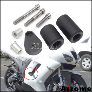 Motocycle Fall Protection Frame Sliders For Kawasaki Ninja ZX-6R ZX6R 2007 2008 Engine Case Bodywork Fairing Crash Protectors