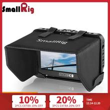 "SmallRig رصد قفص مع Sunhood ل SmallHD التركيز سلسلة 5 ""رصد واقية قفص + واق شمسي هود كيت 2249"