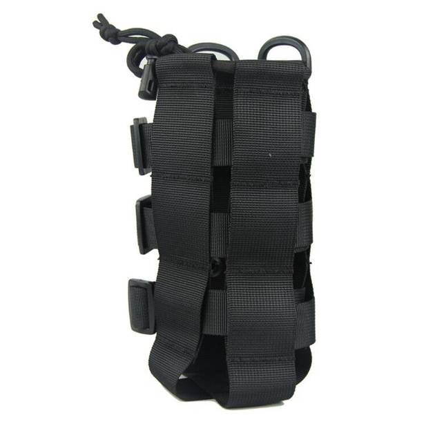2020 New Tactical Molle Water Bottle Pouch Oxford Military Canteen Cover Holster Outdoor Travel Kettle Bag With Molle System 2