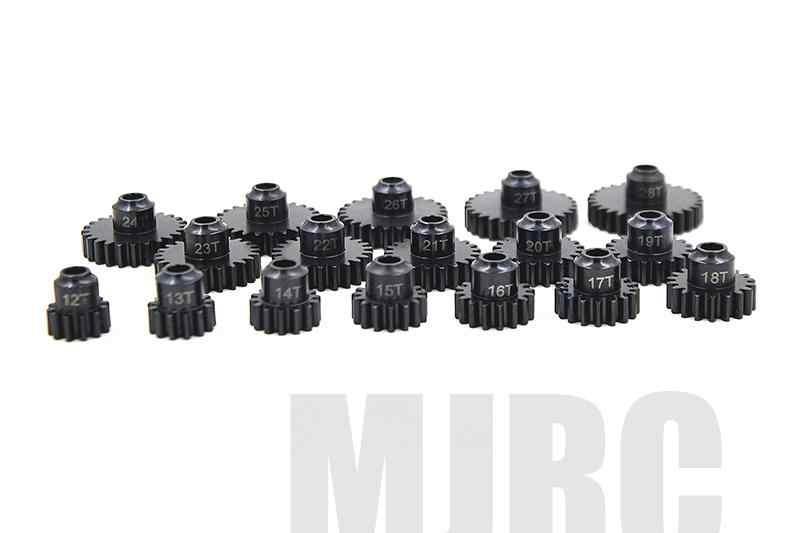32P M0.8 โลหะเหล็กความแม่นยำสูงSLASH E-REVO SUMMIT AXIAL 90050 90025 90026 90038 90058 เส้นผ่านศูนย์กลางภายใน 5 มมมอเตอร์เกียร์ 11-21T