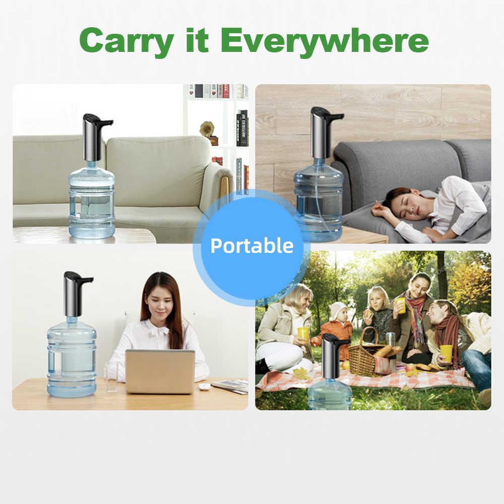 التلقائي الكهربائية المحمولة مضخة مياه جالون الشرب زجاجة التبديل لجهاز ضخ المياه للمنزل في الهواء الطلق