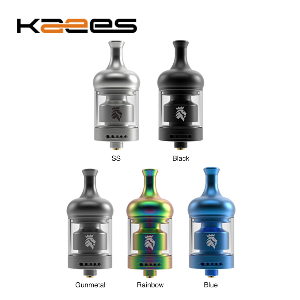 Original KAEES Aladdin MTL RTA Tank 2ml Capacity With Quick Lock System E-cig Vape Tank VS KAEES Solomon 3 RTA/ Zeus X
