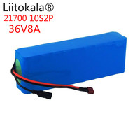 Liitokala 36V8AH 21700 4000 Mah 10S2P Elektrische Fiets Voor Elektrische Fiets Scooter 36V Ebike Fiets Vet 36V Batterij