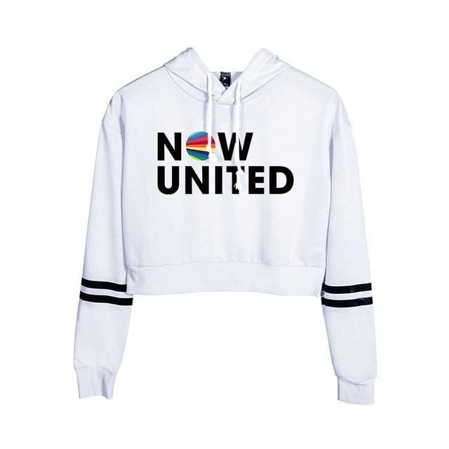 Now United Crop Top Hoodies Harajuku Japanese Anime Uzumaki Printed Hoodie Women Streetwear Fashion Cropped Sweatshirt Coat 20