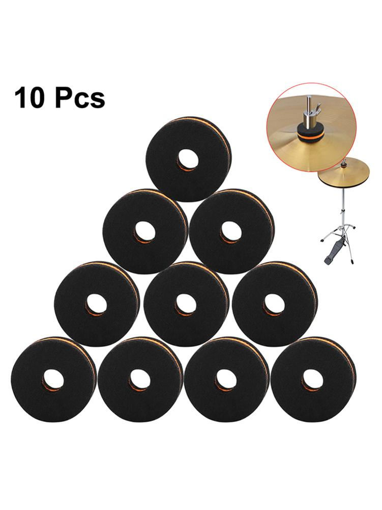 Cymbal Drum Accessory Set Cymbal Felt Washers Cymbal Nuts Felt Drum Protection Kit Superior Quality Quick Delivery