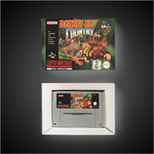 Donkey Country Kong - EUR Version RPG Game Card Battery Save With Retail Box