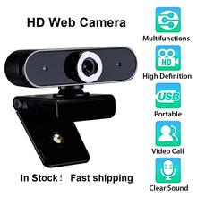 MeterMall 1.5m USB Line Length HD Web Camera Built-in Noise Reduction Microphone Adjustable Webcam For PC Computer Laptop