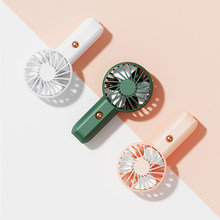 Mini Fan Portable USB Rechargeable Neck Fan Outdoor Standing Silent Fan Hand Desk Small Air Cooler Fan 5V Neckband Fan Cooling