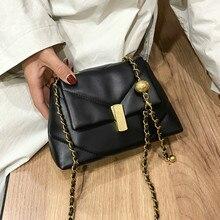 Petit Sac à bandoulière d'hiver en cuir Pu pour femmes, sacs de voyage, de luxe, de styliste