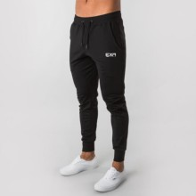 2020 FashionMen's High quality Brand Men pants Fitness Casual Elastic Pants bodybuilding clothing casual sweatpants joggers