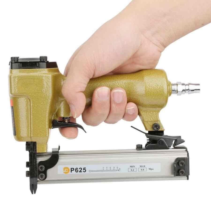 Riveter P625 pneumatyczne powietrze Pin gwoździarka zszywacz pneumatyczny do ziarna paznokci 100 sztuk gwoździarka powietrza długość 10-25mm akcesoria do elektronarzędzi