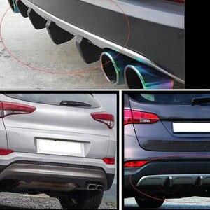 Image 5 - 2020 universal auto heckspoiler diffusor für Porsche Cayenne Macan Macan S Panamera Cayman Carrera Porsche911 918 Boxster