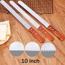 Нож для хлеба из нержавеющей стали 10 дюймов
