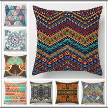 1 шт декоративная подушка мандалы наволочка домашний декор полиэстер