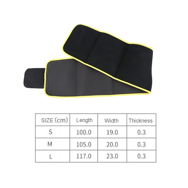 New Fitness Waist Belt Breathable Sweat Absorption Body Sculpting Protection Shapewear Adjustable Waist Support Brace 5