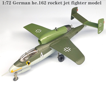 1:72 German he.162 rocket jet fighter model Finished product collection model 36345 image