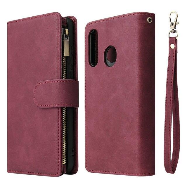 Multifunctionele Rits Case Voor Coque Samsung Galaxy A21S A31 A51 A71 A50 A70 A40 A10 A41 A21 S A11 A01 een 71 51 Een 31 21 Flip Cover