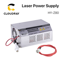 Cloudray 80 100W CO2 Laser moniteur dalimentation AC90 250V EFR Tube pour CO2 Laser gravure Machine de découpe HY Z80 série Z
