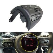 KIA K2 RIO IKSLAIN ağustos X LINE lüks kırmızı çizgi direksiyon Cruise kontrol düğmesi Bluetooth ses telefonu ses anahtarı araba