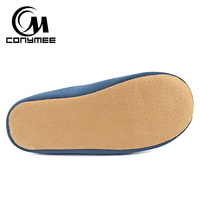 Winter Men Home Slippers Casual Indoor Shoes Footwear Soft Plush Bedroom Slippers Sandals Non-slip Male Warm Cotton Slipper Shoe 3