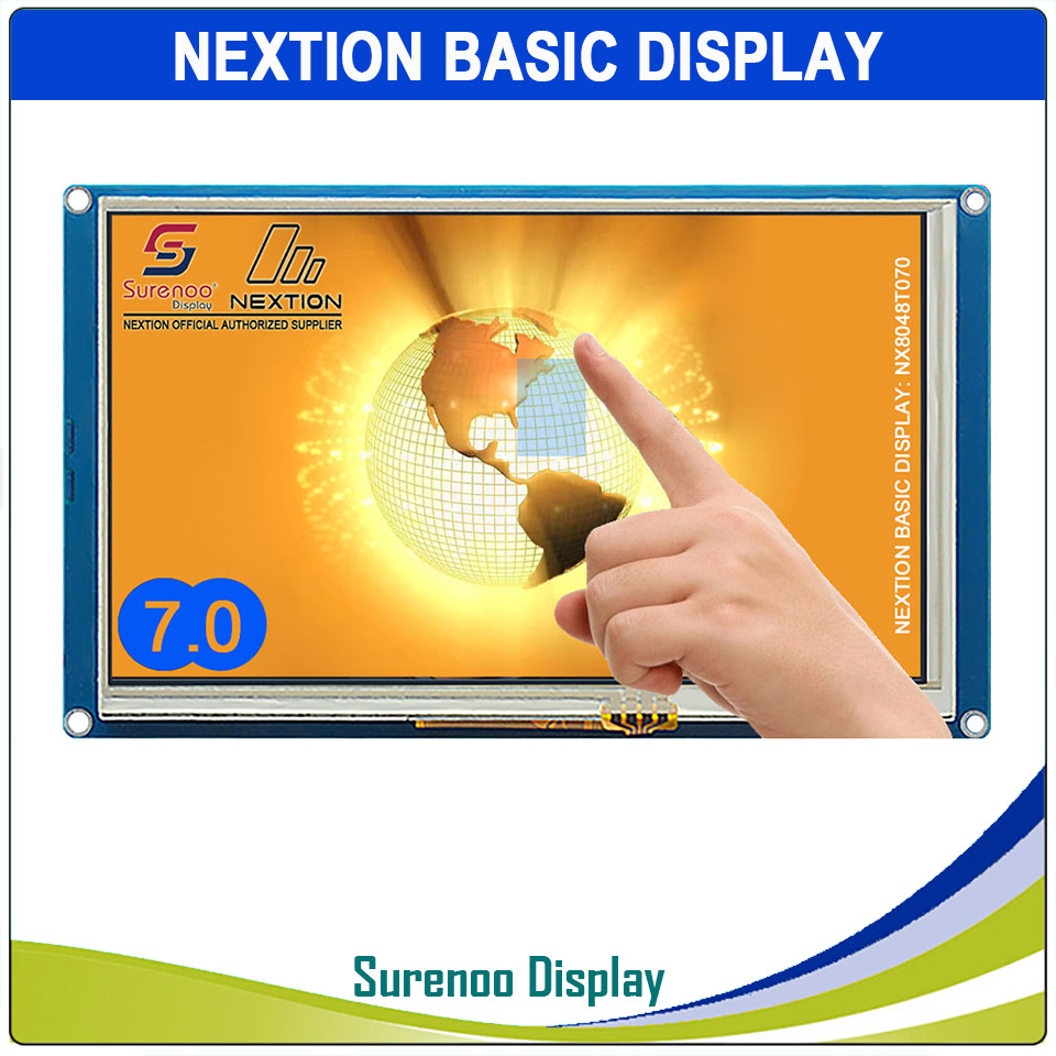 7 0 NX8048T070 Nextion Basic HMI Smart USART UART Serial Resistive Touch TFT LCD Module Display