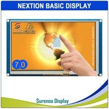 "7.0 ""NX8048T070 Nextion الأساسية HMI الذكية USART UART المسلسل مقاوم اللمس TFT وحدة عرض LCD لوحة لاردوينو التوت بي"