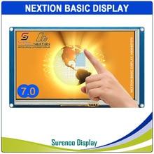 "7.0 ""NX8048T070 Nextion di Base HMI Smart USART Seriale UART Touch Screen Resistivo di Tocco TFT LCD Modulo Display per Arduino RaspBerry pi"