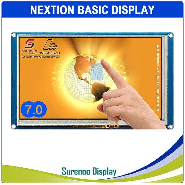 """7.0 """"nx8048t070 nextion básico hmi inteligente usart uart série toque resistivo tft lcd módulo painel de exibição para arduino raspberry pi"""