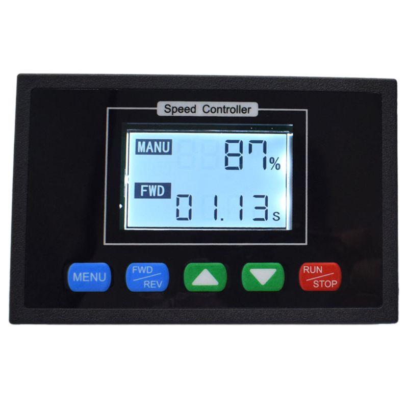 Digital Display 0 ~ 100% Einstellbare DC 12V 24V 36V 48V 40A PWM DC Motor Geschwindigkeit Controller Timing Controller Reversibl