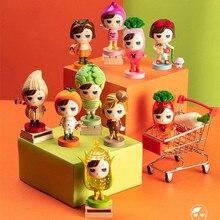 Blind Box Toys Little Amber Farm Adventure Kids Guess Bag Cute Vegetables Toys Anime Figures Home Decor Lovely Doll Girl Gift