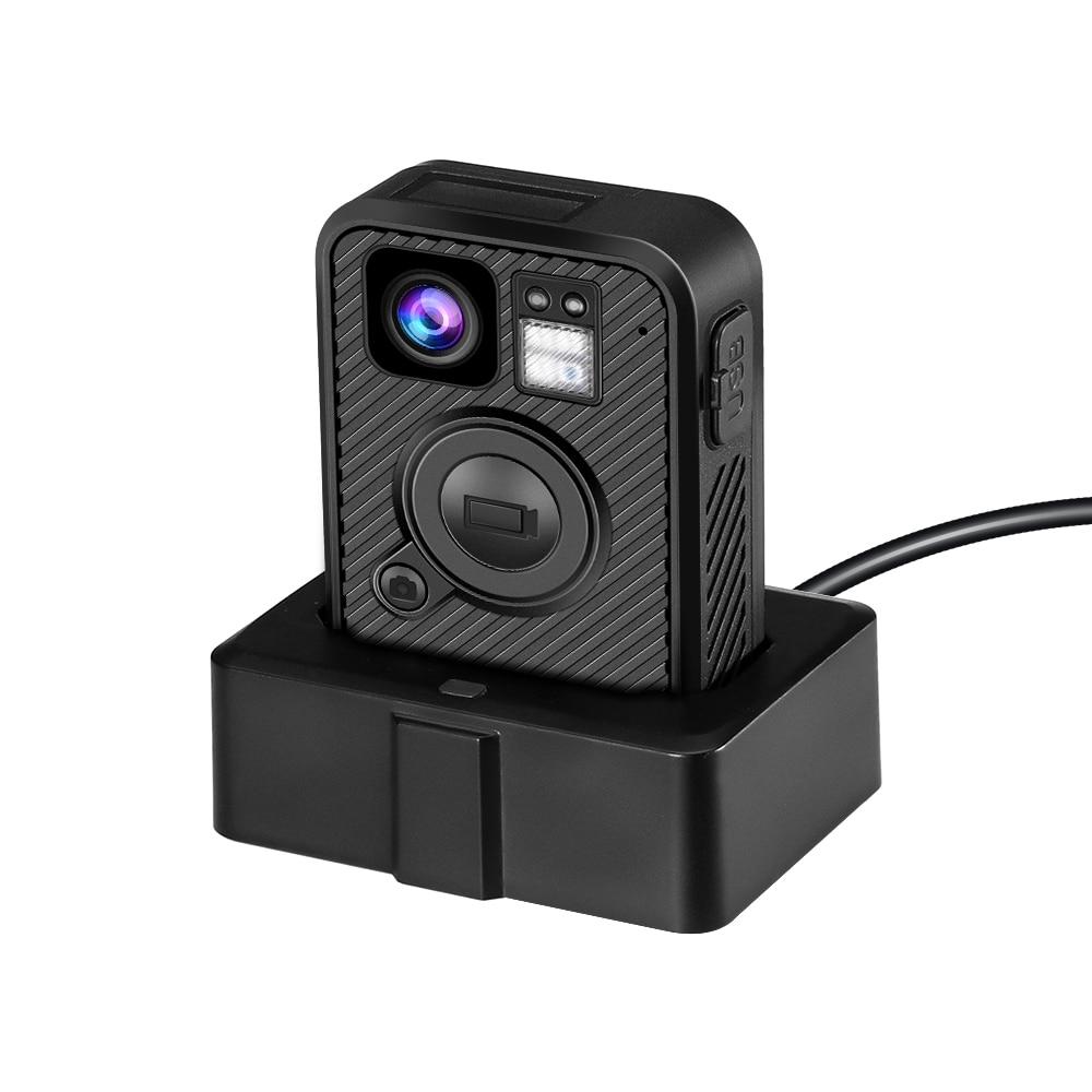 BOBLOV Wifi Police Camera F1 32GB Body Kamera 1440P Worn Cameras Law Enforcement 10H Recording GPS Night Vision Video recorder