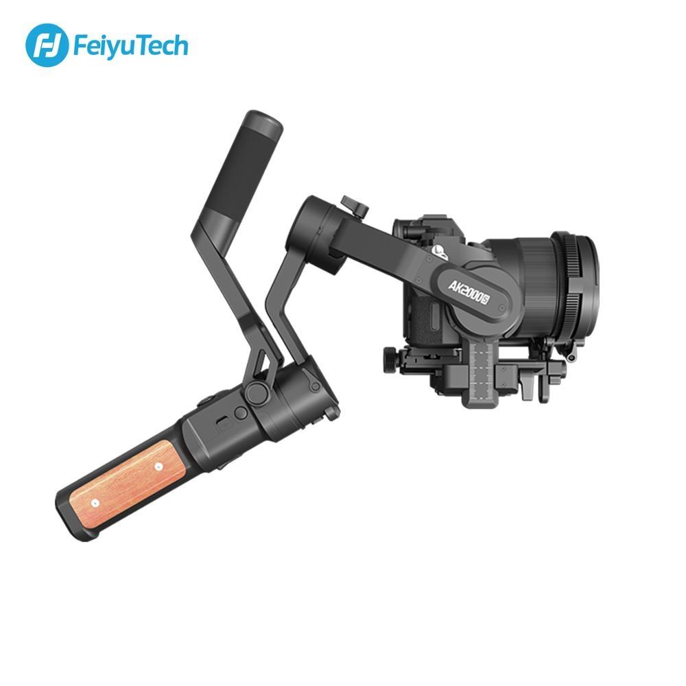 Image 4 - FeiyuTech AK2000S 3 axis gimble DSLR Camera Stabilizer Handheld Video Gimbal fit for DSLR Mirrorless Camera pk ak2000Handheld Gimbal   -