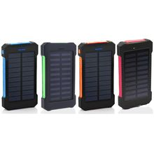 Case Charger Power-Bank Solar-Panel Samsung And LED for 18--820 Diy-Kits-Box Usb-Ports