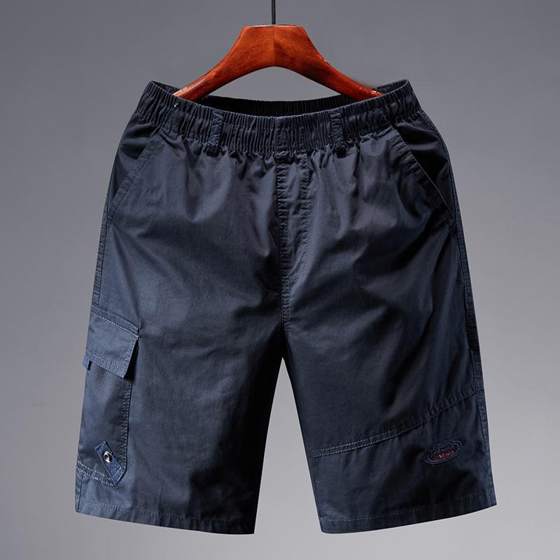 Summer Beach Shorts Men's Middle-aged Shorts Men's Large Size Pants Men Workwear Shorts Shorts Bags Shorts