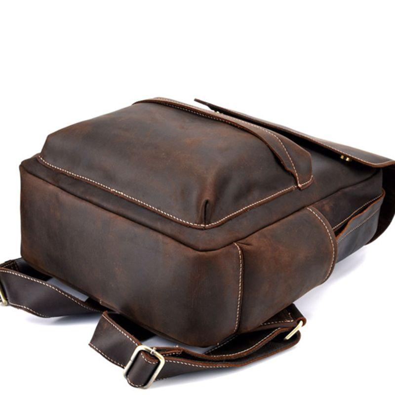 FOXER дизайнерские сумки известный бренд женские сумки 2019 новая женская сумка из натуральной кожи Модный женский рюкзак Отдых большая вмести... - 3