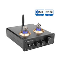 AIYIMA Bluetooth 5.0 6J1 Tube Amplifier Preamp Dual TPA3116 Digital Stereo Sound Amplifiers 100Wx2 Home Theater HIFI Mini Amp