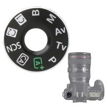 Camera Function Mode Dial Turntable Label Top Cover Button Unit Interface Cap Plate Repair Kit For Canon 6D Cam
