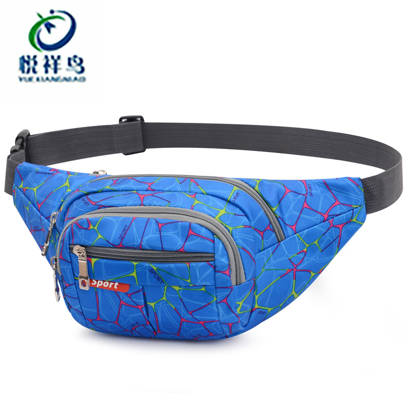 Men Wallet New Style Nylon Outdoor Camouflage Sports Waist Pack Multi-functional Change Mobile Phone Bag Men's