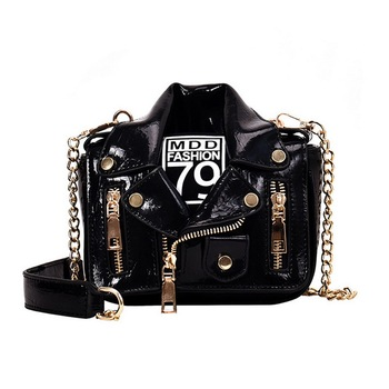 bags for women 2020 Fashion Chain Motorcycle Hand Bags Women Rivet Clothing Shoulder Messenger Bag Women PU Leather Crossbody foxer brand 2018 women s leather bag fashion crossbody bags for women chain bags girl shoulder bag gift for valentine s day