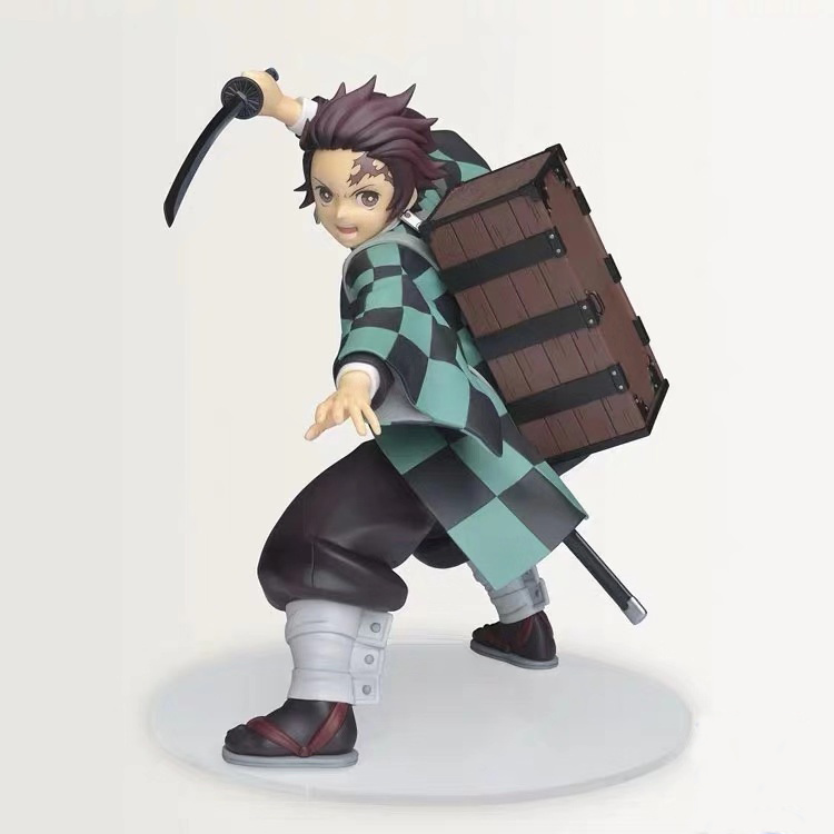 Presale October Sega KIMETSU NO YAIBA Figure Figurine 15cm Kamado Tanjirou PVC Figur Model Figure Dolls