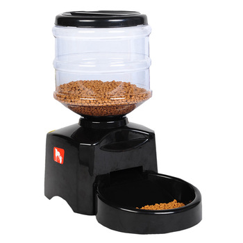 Large Capacity Dog Plastic Fountains Katten Pet Cat  Automatic Feeder with  Drinkfontein Comederos Para Gatos New 2019 GG50ws