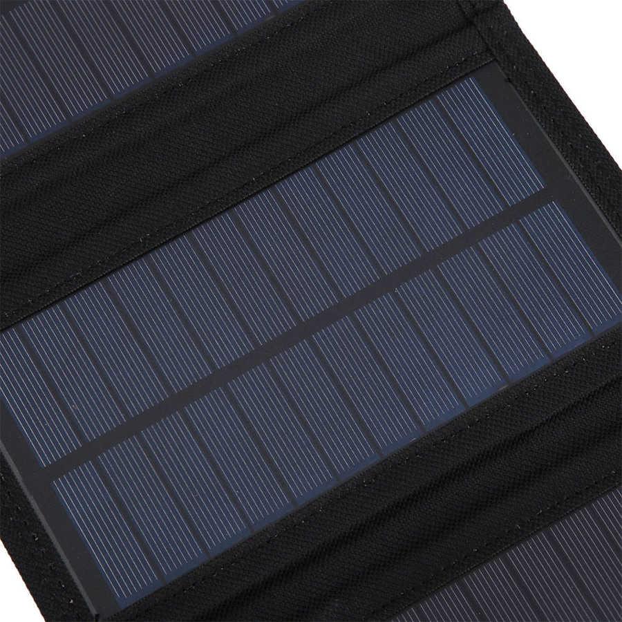 pacote de 15w portatil painel solar dobravel 04
