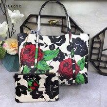New Luxury Brand Fashion Printed Bulk Leather Bag Women Shopping Ethnic Style Handbag Purse Lady Shoulder Messenger Bags Sac