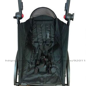 Image 1 - Carrinho de bebê assento pano atualizar babyzen yoyo carrinho de criança para yoya 175 recém nascidos assento almofada carrinho de bebê carrinho de bebê carrinho de criança acessórios