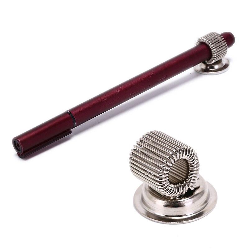 1 Pcs Pen Holder Clips Creative Metal Pen Holder Magnetic Single Hole Doctors Nurse Uniform