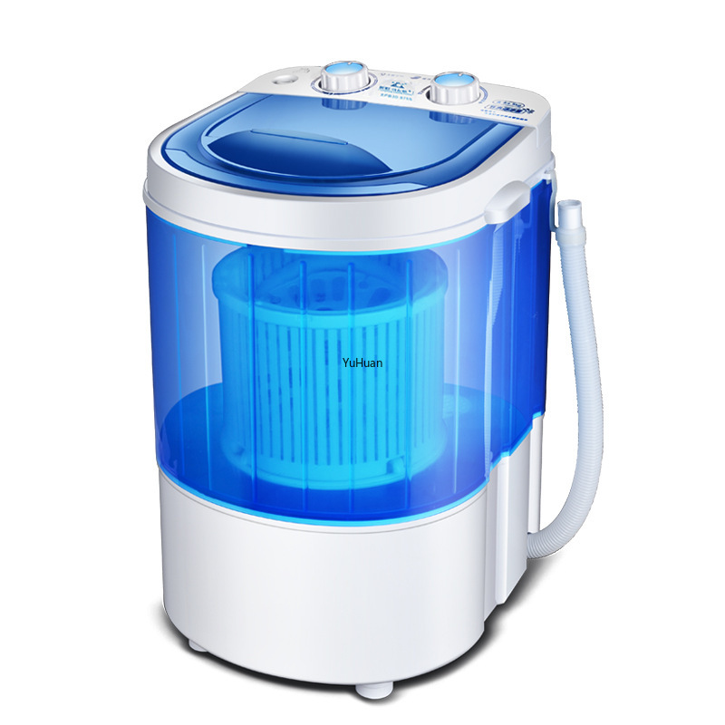 220V  Single Cylinder Mini Washing Machine With Semi-automatic Washing Machine  Washer And Dryer  Portable Washing Machine