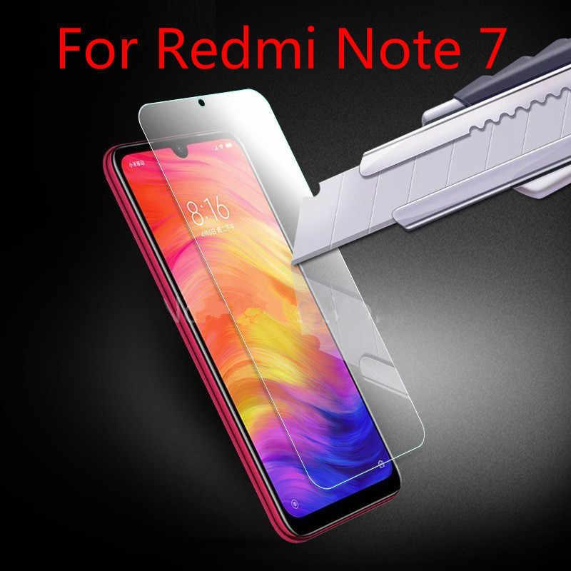 Закаленное стекло для Xiaomi Redmi Note 8, 7, 6, 5 Pro Plus, 7A, 6A, защита экрана, твердость 9 H, ультратонкий, устойчивый к царапинам, взрывозащищенный